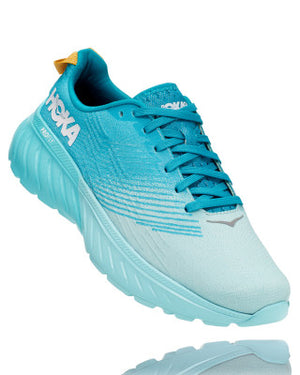 HOKA WOMENS MACH 3 CAPRI BREEZE / BLUE CARACAO
