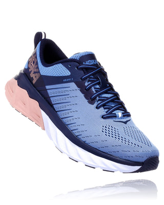 Hoka Women's Arahi 3 Wide - Allure/Mood Indigo