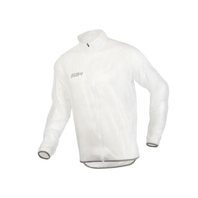 Sub4 Action Running/Cycling Rain Jacket - Clear