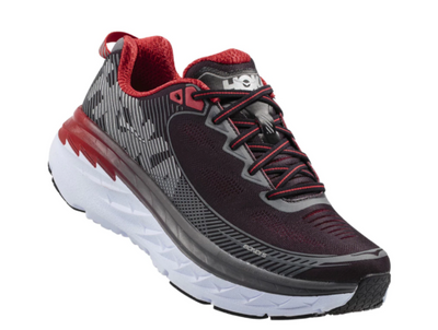 Hoka Men's Bondi 5 - Black / Formula One