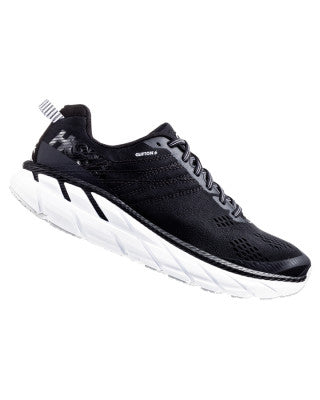 Hoka Men's Clifton 6 - Black / White