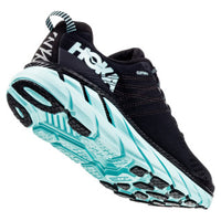 Hoka Women's Clifton 6 - Black / Aqua Sky