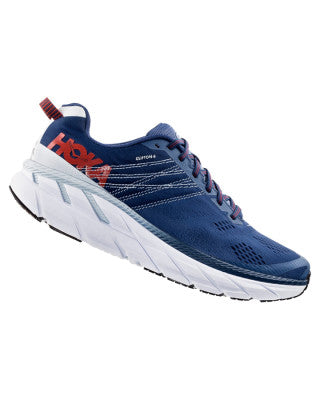 Hoka Men's Clifton 6 Ensign - Blue / Plein Air