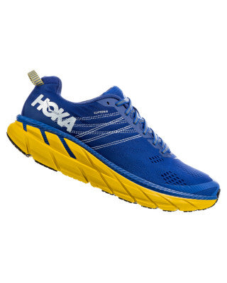 Hoka Men's Clifton 6 - Nebulas Blue / Lemon