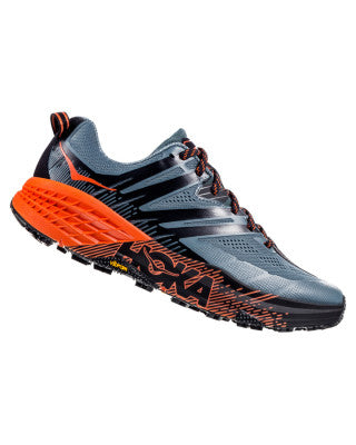 Hoka Men's Speedgoat 3 - Stormy Weather / Tangerine Tango