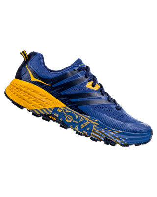 Hoka Men's Speedgoat 3 - Galaxy Blue / Old Gold