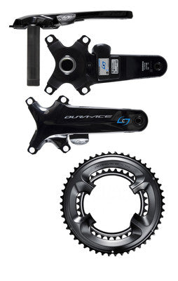 Stages R Shimano DURA-ACE 9100 Single Driveside Power Meter with Chainrings