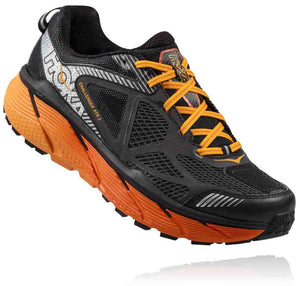 HOKA MENS CHALLENGER ATR 3 BLACK / RED ORANGE