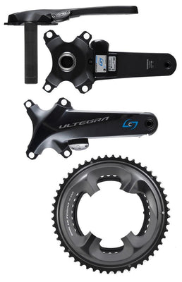 Stages R Shimano ULTEGRA R8000 Single Drive-Side Power Meter with Chainrings