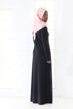 MAXI DRESS - LONG SLEEVE BLACK