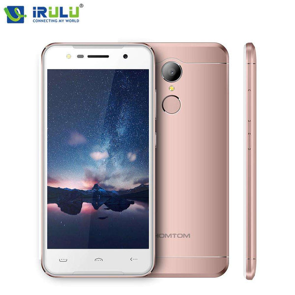 "Original iRULU HOMTOM HT37 Smartphone 5"" HD Display Android 6.0 MTK6580 Quad Core 2GB/16GB Ultra Slim Body Dual SIM Cards Phone - Orly's"