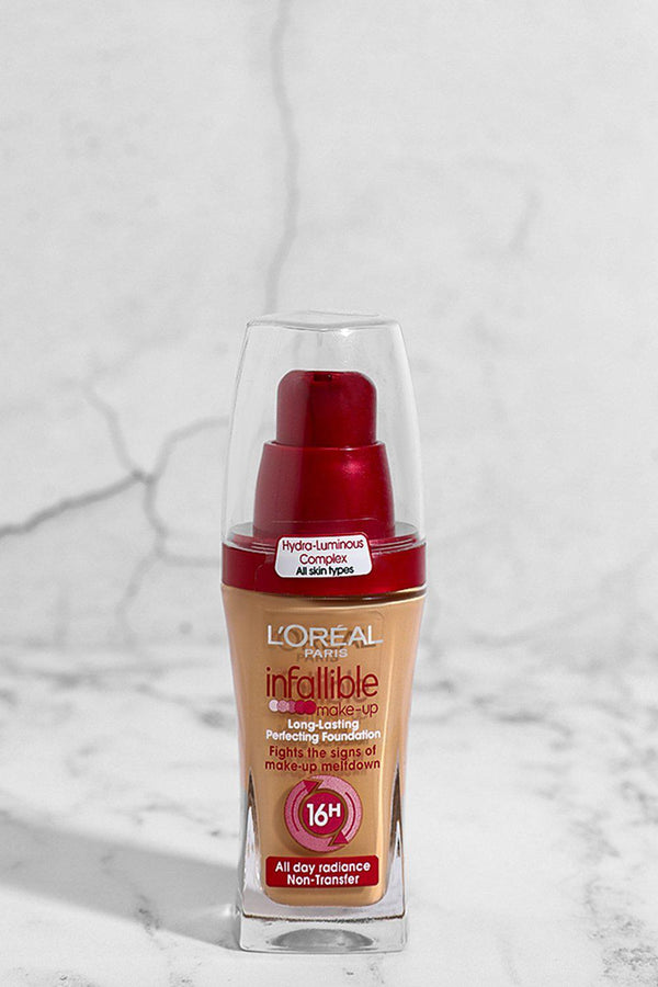 L'OREAL Infallible Long Lasting Foundation 30 ML 260 Golden Sun - SinglePrice