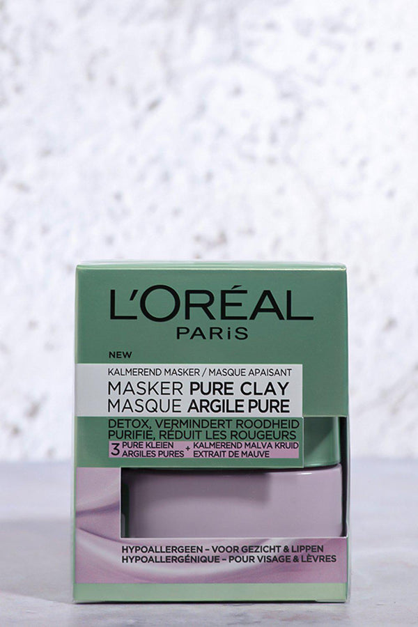 Loreal Pure Clay Mask Anti-Redness - SinglePrice