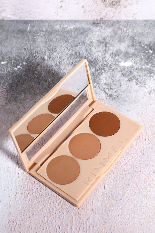 Rimmel Insta Conceal And Contour Palette In 020 Medium - SinglePrice