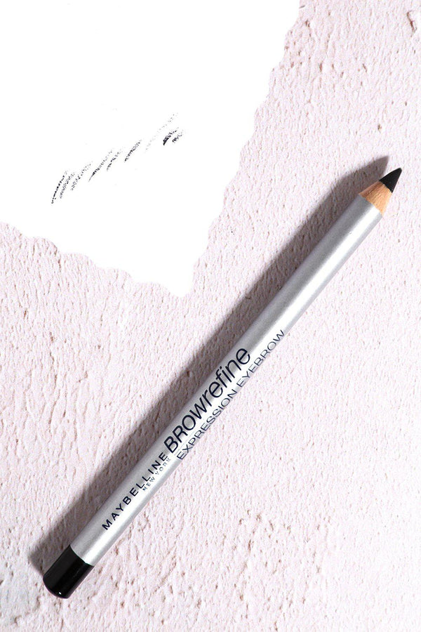 Maybelline Browrefine Expression Eyebrow Pencil In Black - SinglePrice