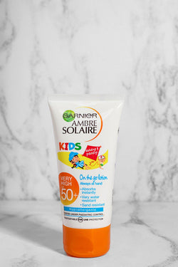 Garnier Amber Solaire On The Go Kids Lotion 50ml SPF 50 - SinglePrice