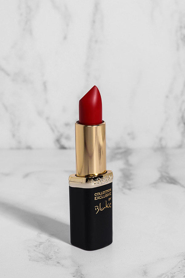 L'Oreal Color Riche Collection Exclusive Lipstick In Blake's Pure Red - SinglePrice