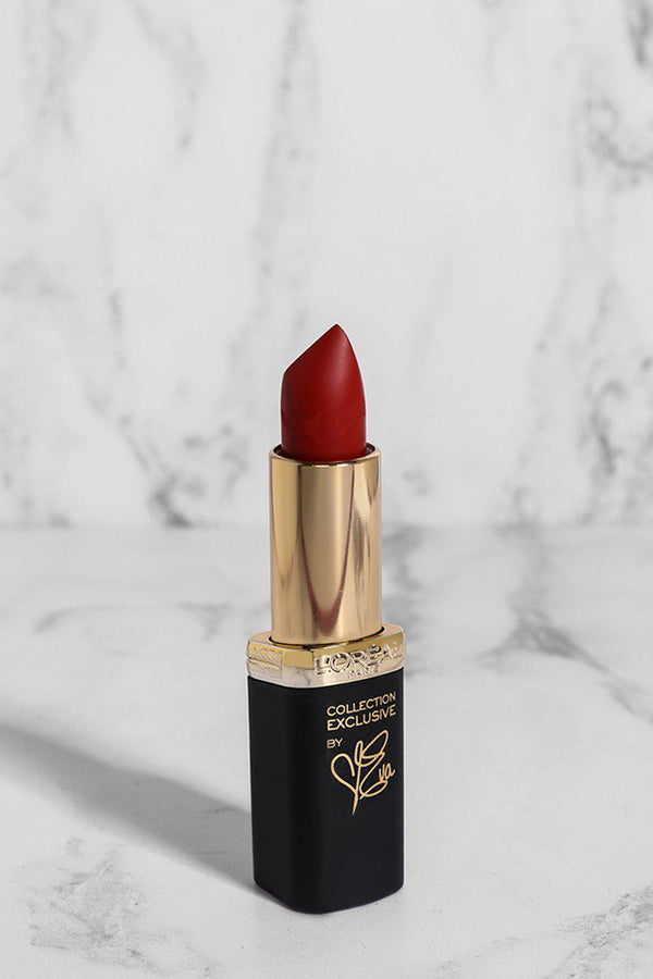 L'Oreal Color Riche Collection Exclusive Lipstick In Eva's Pure Red - SinglePrice