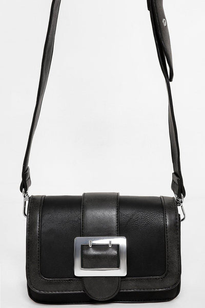 Buckle Black Mini Bag-SinglePrice