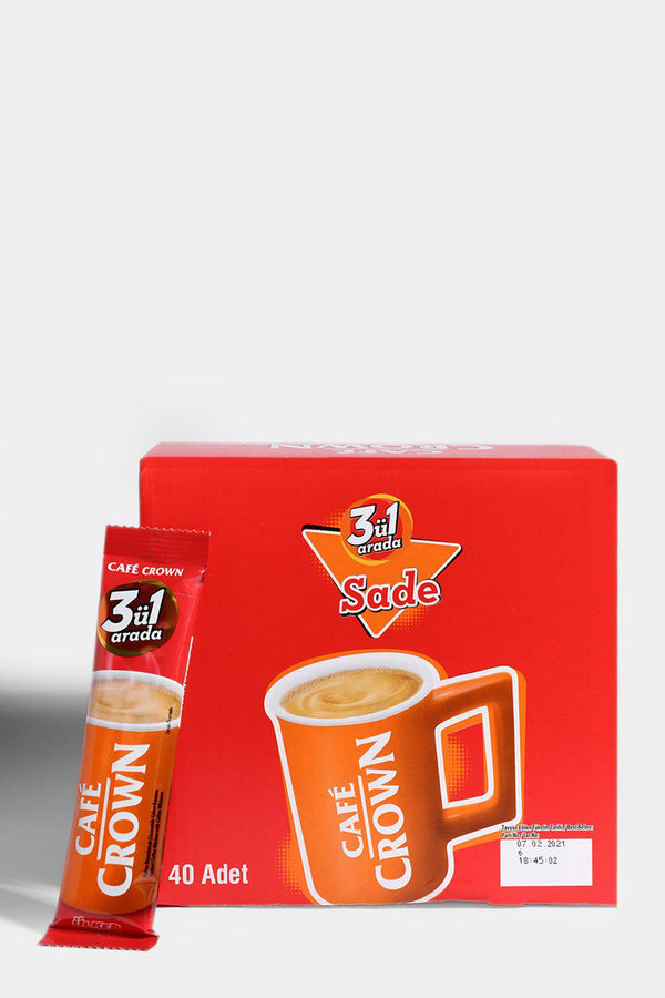 Ulker Cafe Crown 3-In-1 Coffee 40pc Pack - SinglePrice