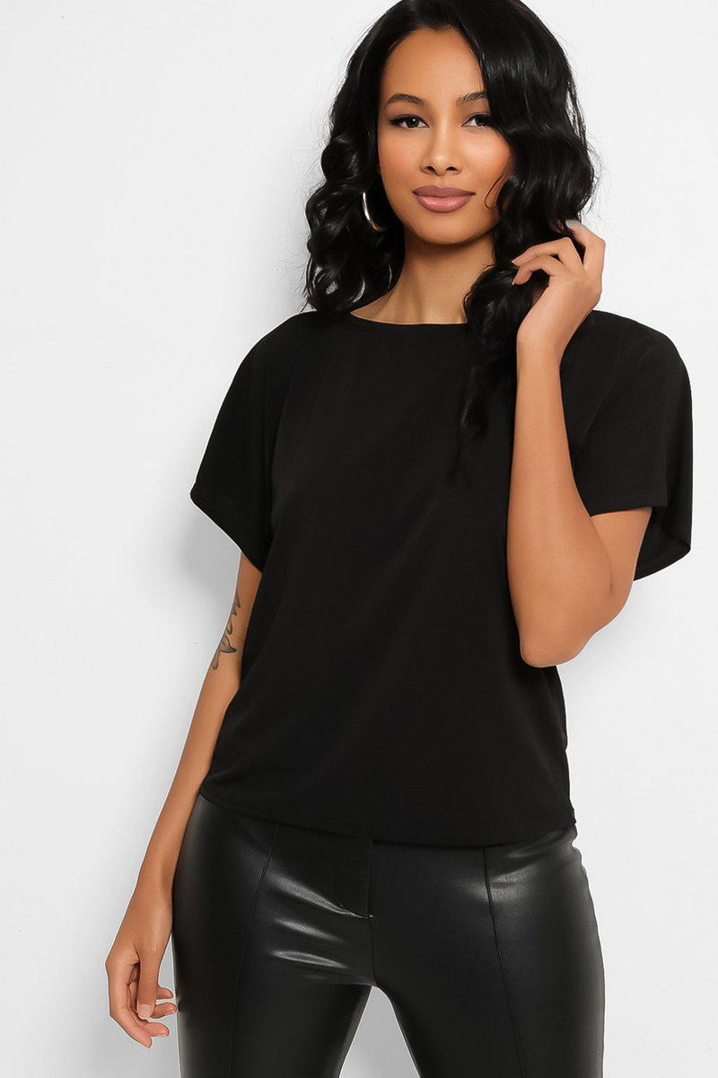 Black Casual Top - SinglePrice