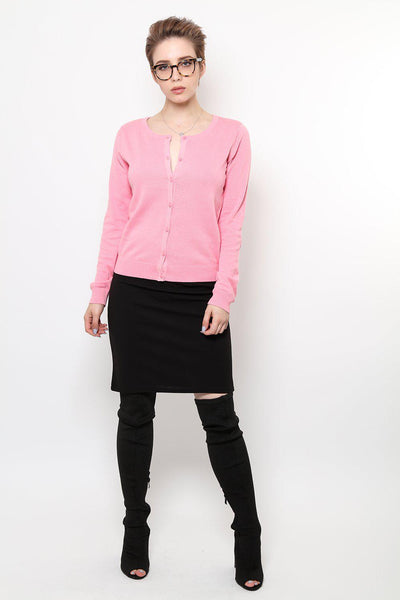 Classic Basics Pink Cardy