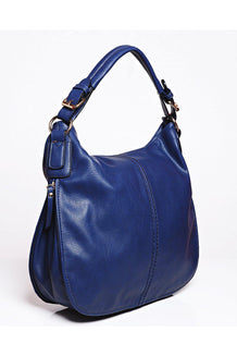 Blue Adjustable Width Large Shoulder Bag-SinglePrice