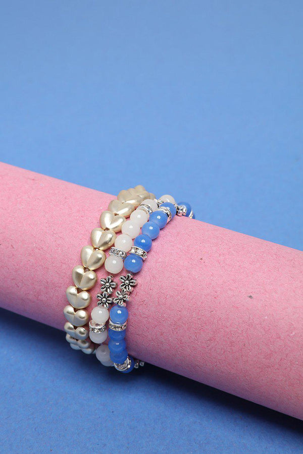 Pack of 3 Stretchy Bracelets-SinglePrice