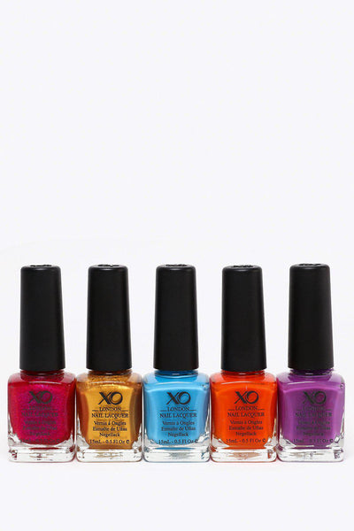 5 Piece Lucky Dip Nail Varnish Set-SinglePrice
