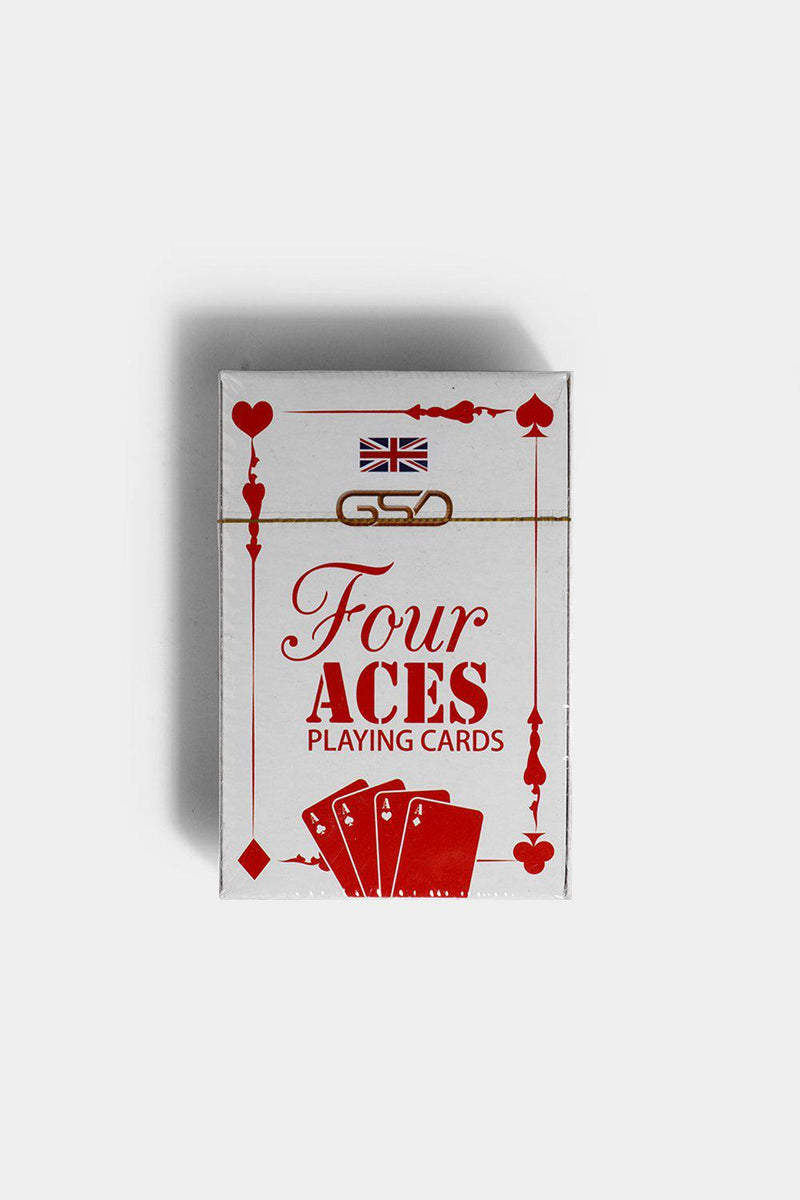 Four Aces Playing Cards - SinglePrice