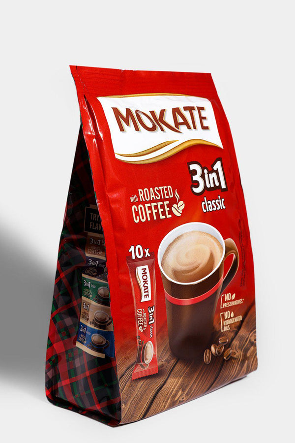 Mokate Instant Coffee 3-In-1 10 Pack - SinglePrice