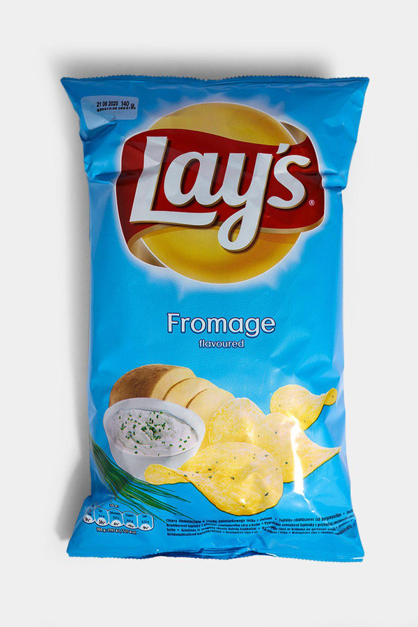 Lays Fromage Flavoured Crisps 140g - SinglePrice