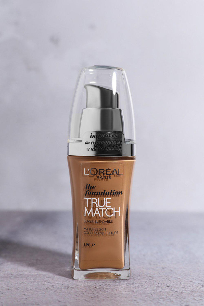 L'Oreal True Match Foundation SPF 17 Golden Cappuccino - SinglePrice