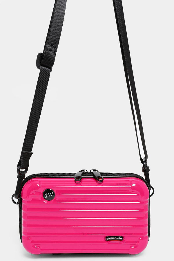 Pink Mini Luggage Case Handbag - SinglePrice
