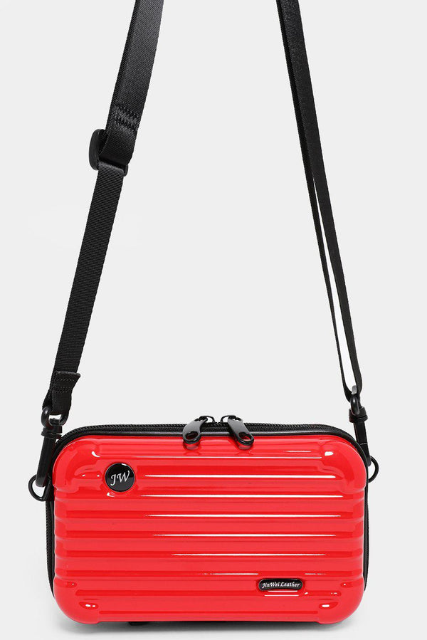 Red Mini Luggage Case Handbag - SinglePrice