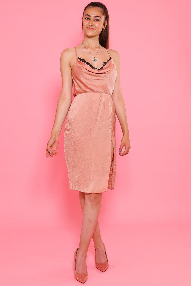 Blush Slip Cami Dress-SinglePrice