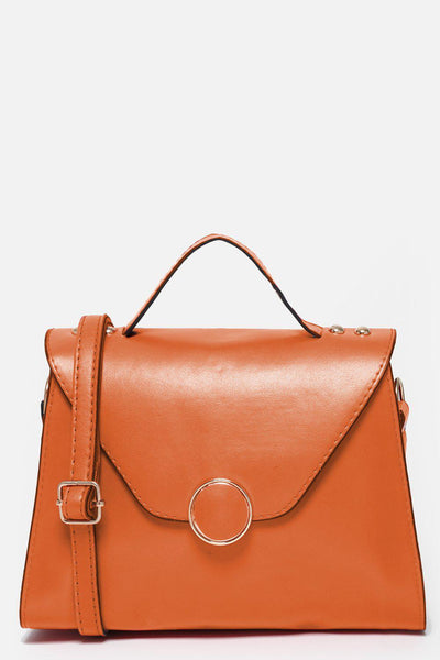 Orange Small Trapeze Handbag-SinglePrice