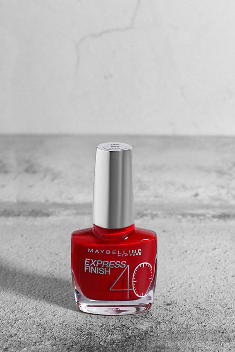 Maybelline Express Finish 40 Seconds Nail Varnish in 505 Cerise Cherry - SinglePrice