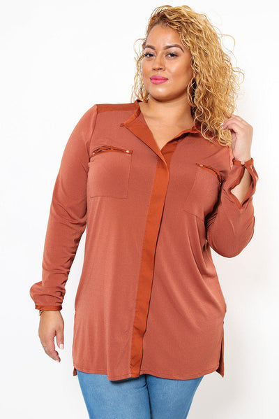 Copper Tunic Top-SinglePrice