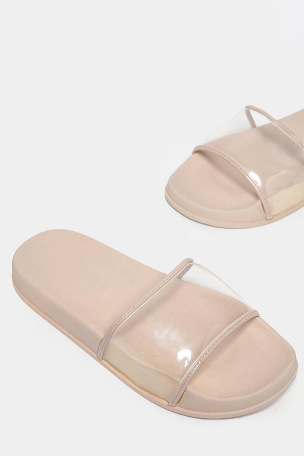 Beige Transparent Perspex Sliders-SinglePrice