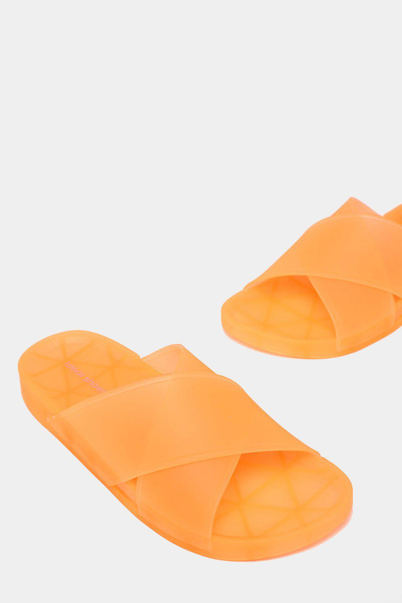 Orange Transparent Jelly Sliders - SinglePrice