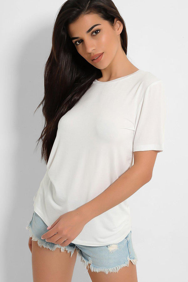 Absolute White Slinky T-Shirt-SinglePrice