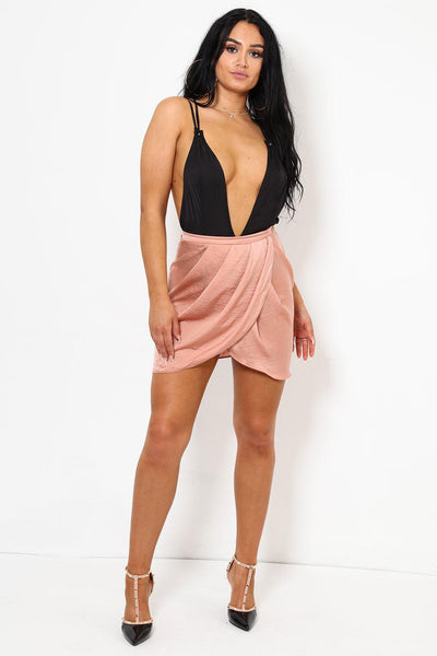Blush Mini Tulip Skirt-SinglePrice