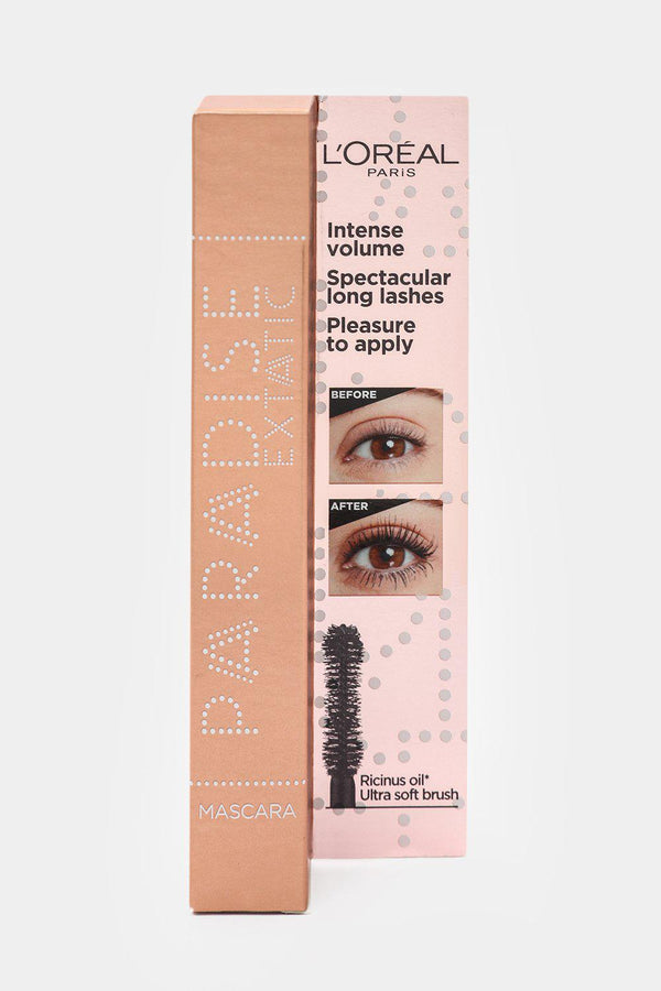 L'Oreal Castor Oil-Enriched Paradise Volumising Mascara - Black 6.4ml - SinglePrice