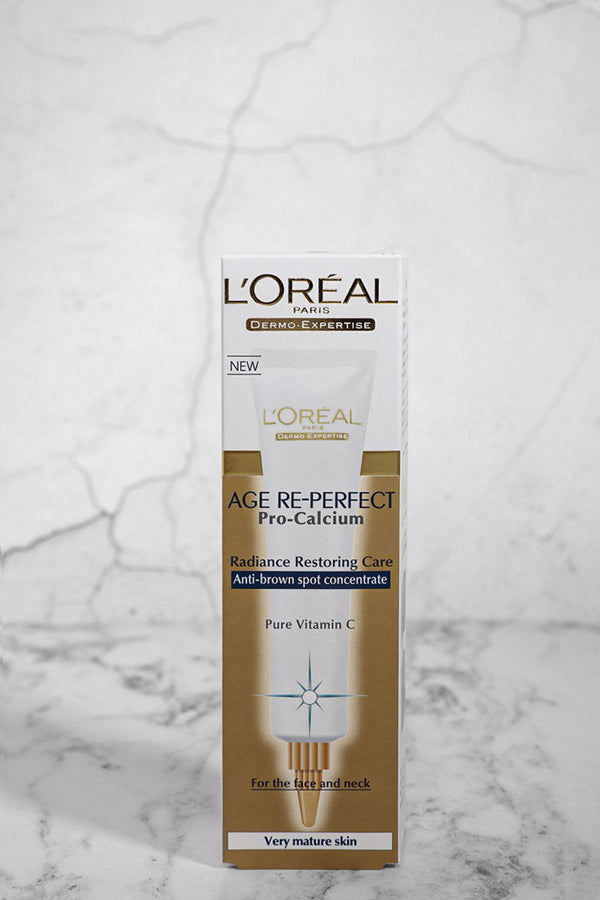 L'OREAL Age Re-Perfect Anti-Brown Spot Concentrate - SinglePrice