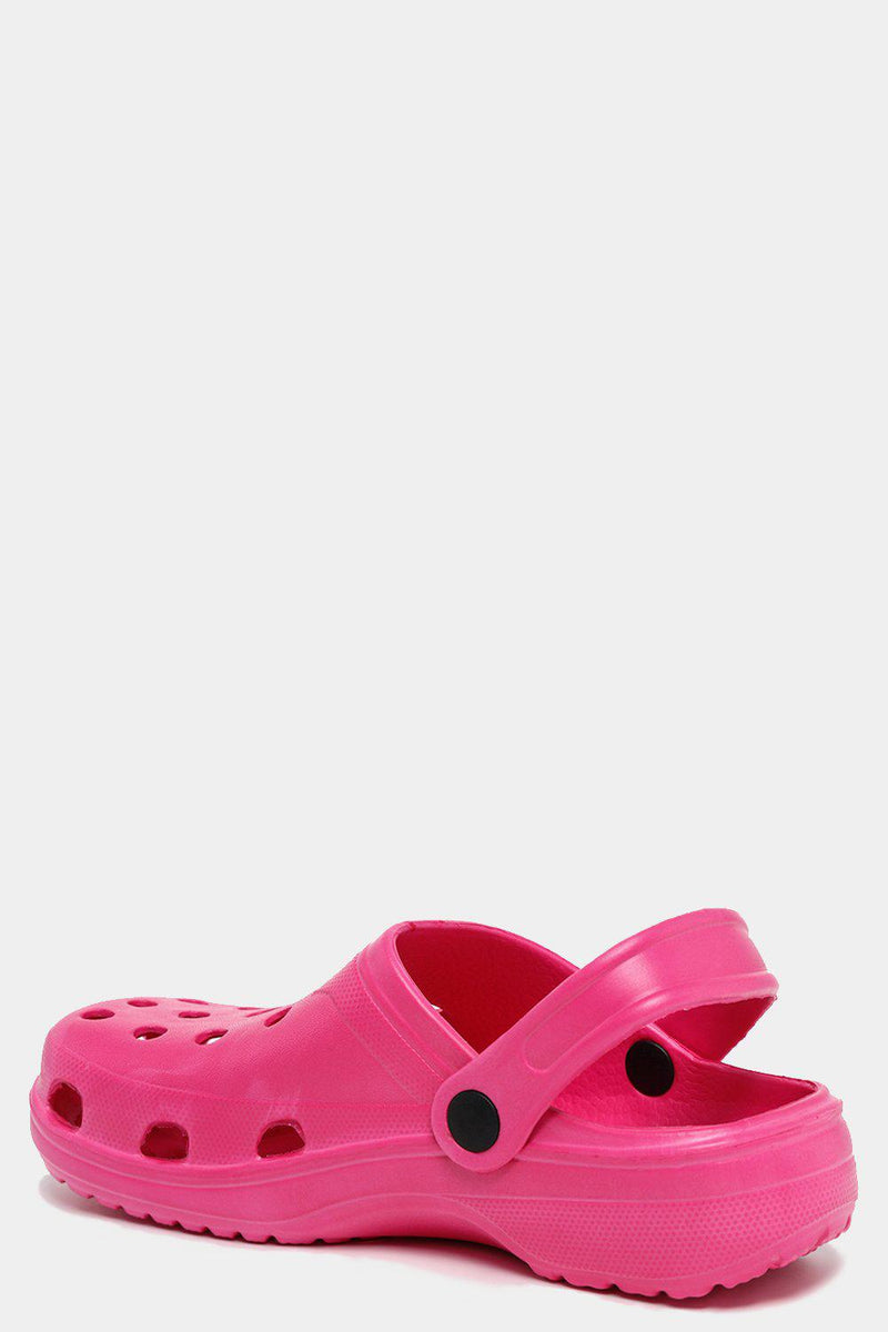 Hot Pink Rubber Crogs - SinglePrice
