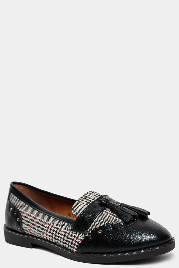 Black Prince Of Wales Loafers