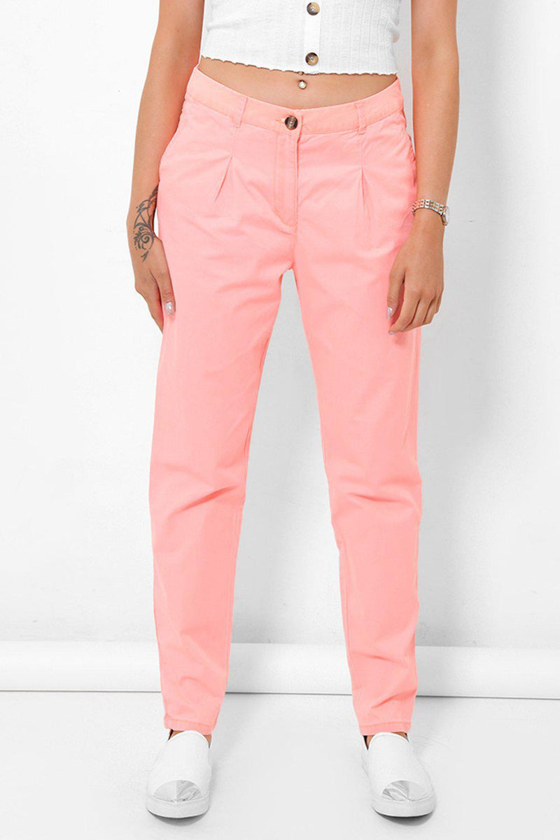 Light Pink Chino Trousers - SinglePrice