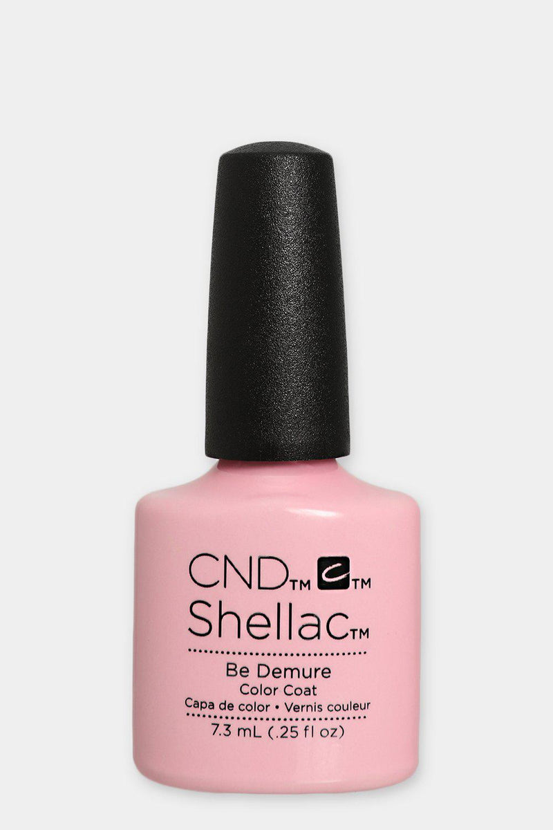 CND Shellac Color Coat Be Demure - SinglePrice