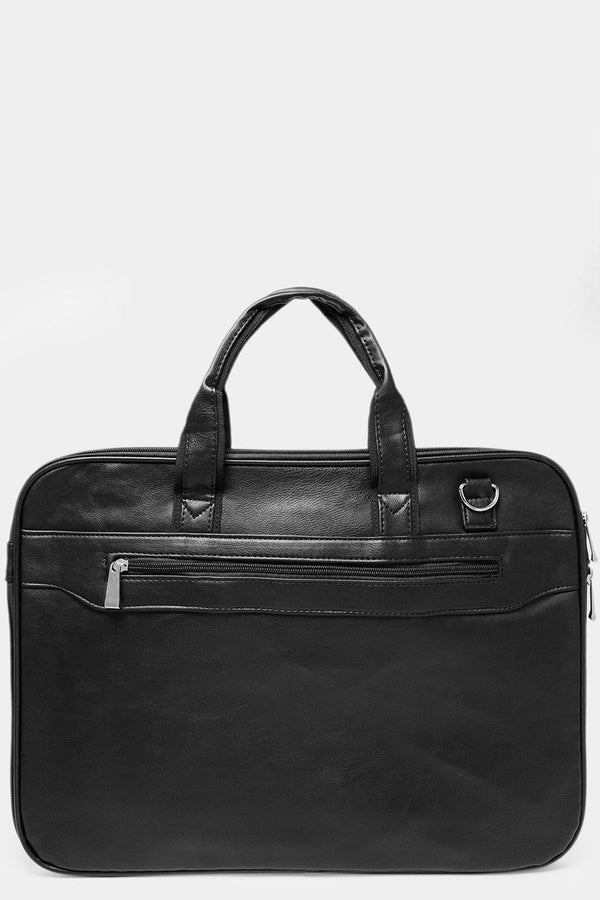 Black Zip Around Large Laptop/Business Bag-SinglePrice